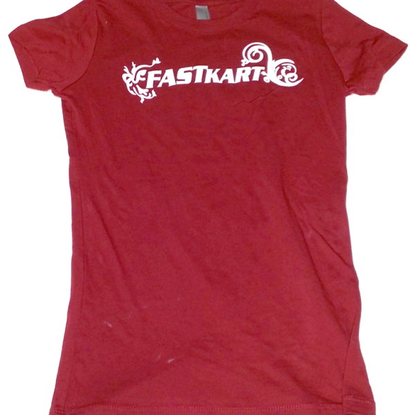 F009 Womens Red T-Shirt