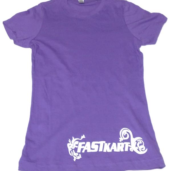 F010 Womens Purple T-Shirt