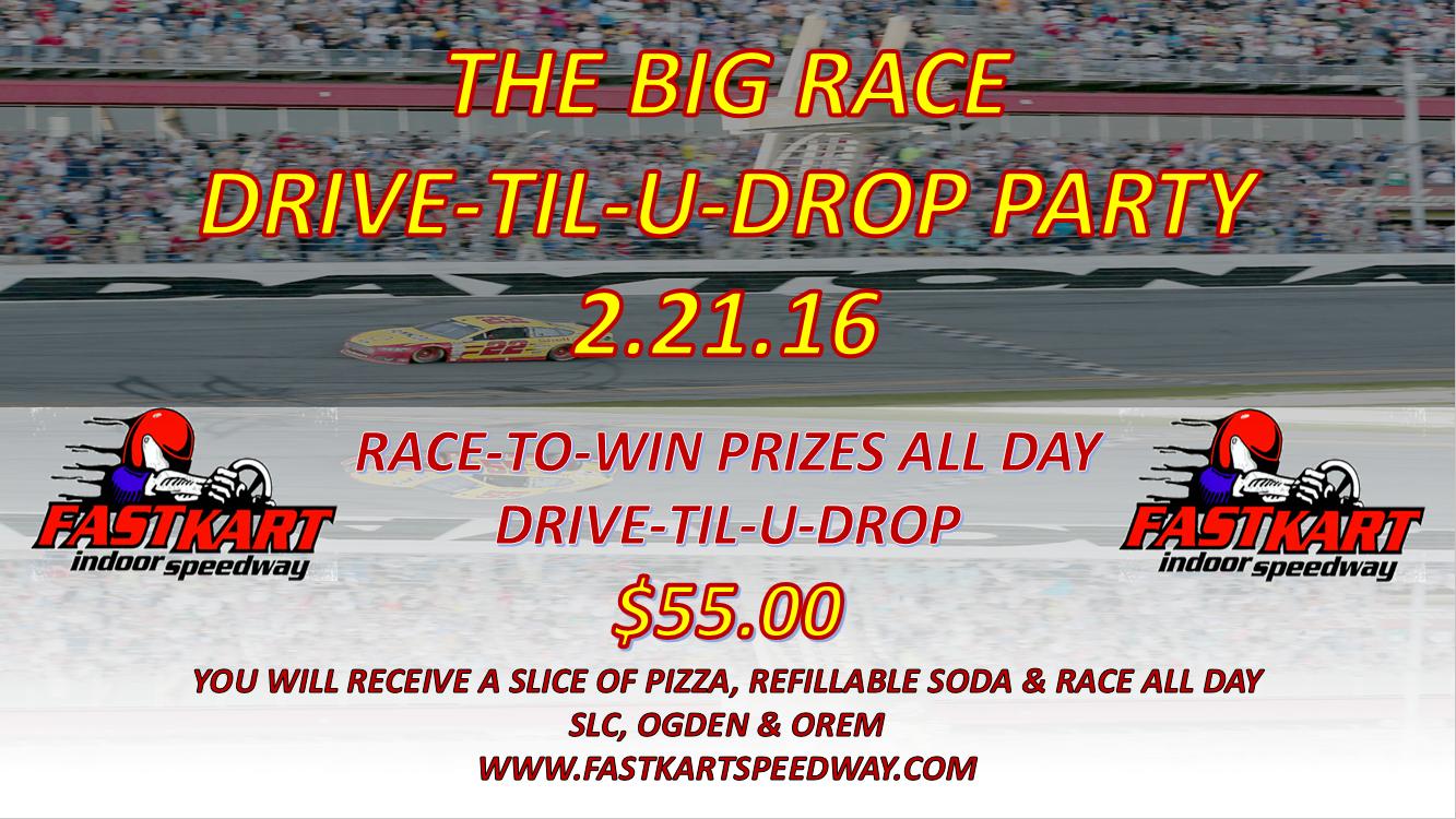 Daytona drive til u drop 2.11.16