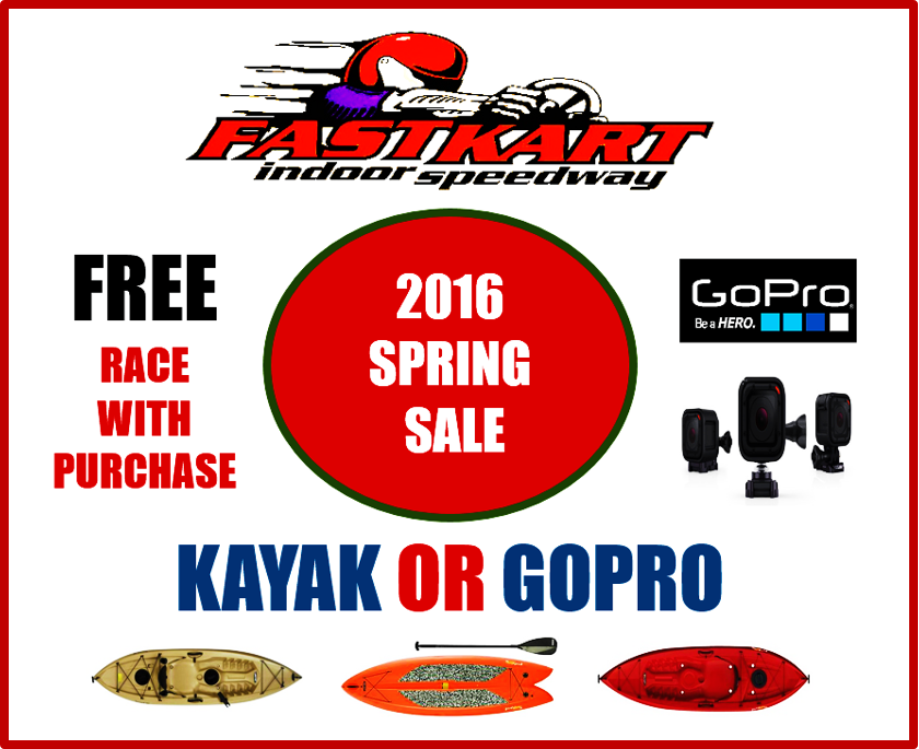 Orem Billboard Gopro, kayak sale 2.29.16